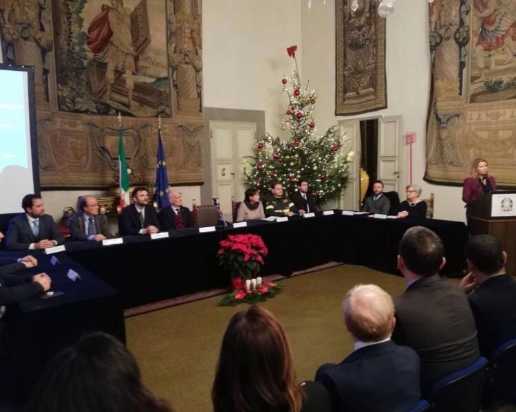 firma del Protocollo presso la Prefettura di Firenze